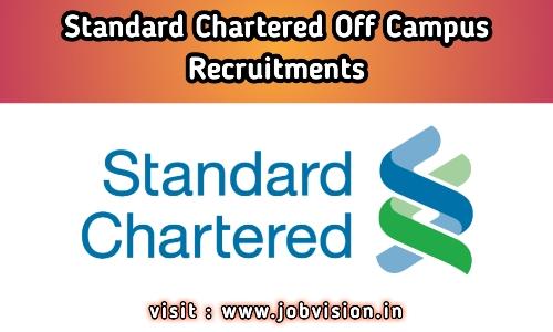 Standard Chartered Bank Recruitment