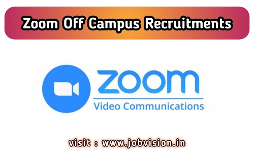 Zoom Off Campus Drive