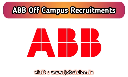 ABB Recruitment 2020
