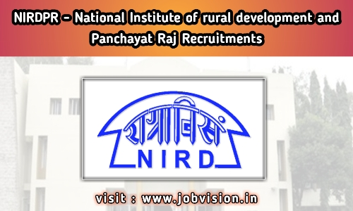 NIRDPR - National Institute of Rural Development and Panchayati Raj