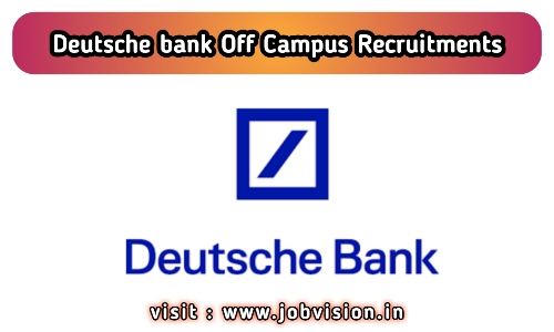 Deutsche Bank Off Campus Drive