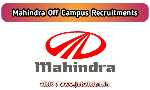 Mahindra Recruitment 2020 Engineer Be B Tech Noida Uttar Pradesh Apply Online