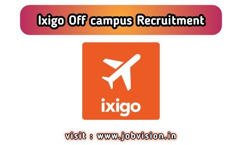 Ixigo Off Campus Drive