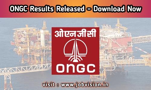 ONGC Apprentice Result 2020