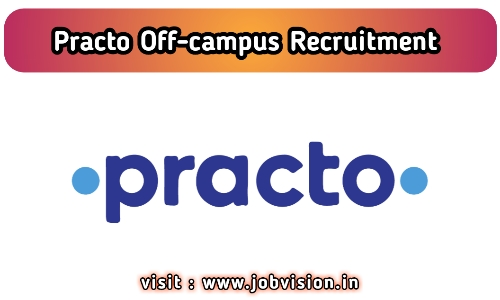 Practo Off Campus Drive
