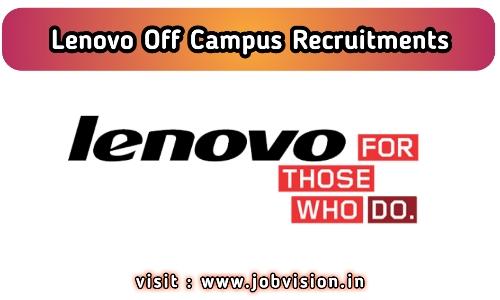 Lenovo Recruitment