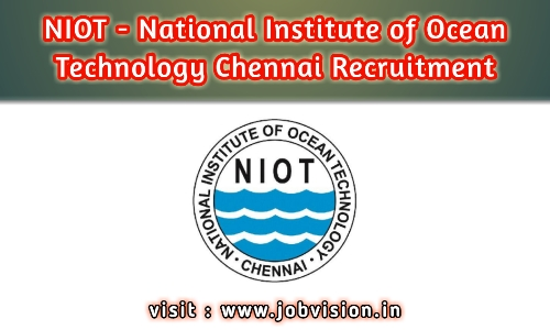NIOT - National Institute of Ocean Technology Chennai