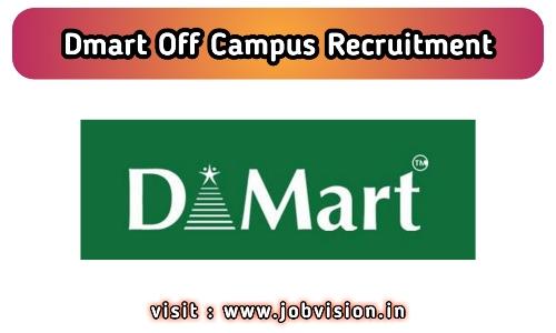DMart Recruitment
