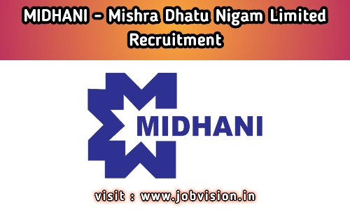 MIDHANI Recruitment