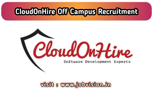 CloudOnHire Off Campus Drive