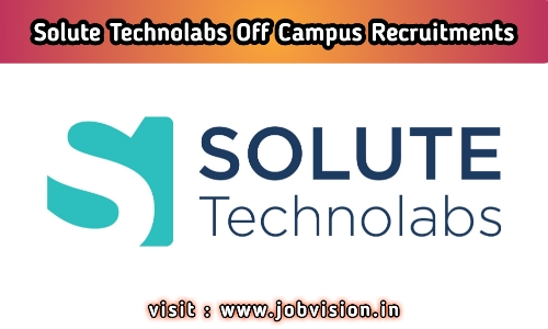 Solute Technolabs Off Campus Drive