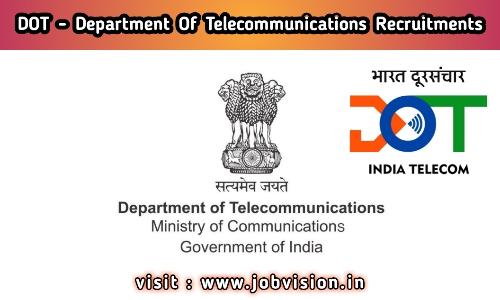 DOT Department of Telecommunication Recruitment