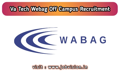 VA Tech Wabag Recruitment