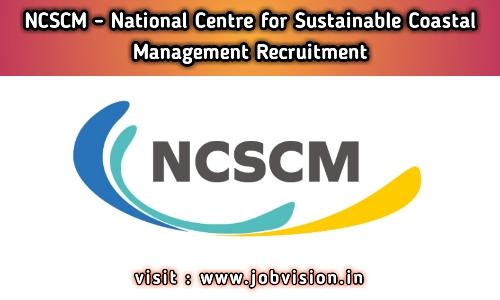 NCSCM Chennai Recruitment