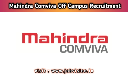 Mahindra Comviva Off Campus Drive