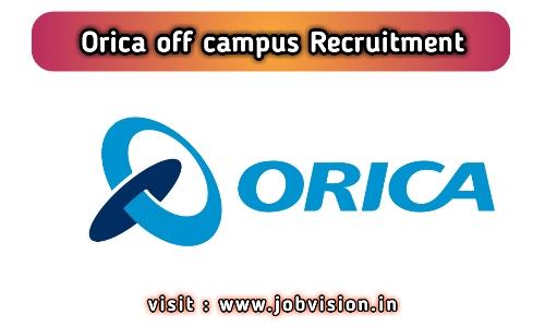 Orica Recruitment 2020