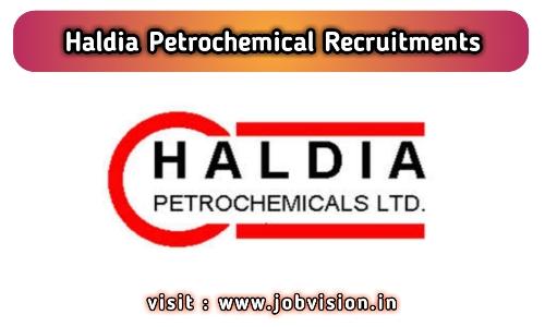 Haldia Petrochemical Recruitment