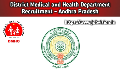 DMHO AP Recruitment