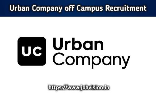 Urban Company Off Campus Drive