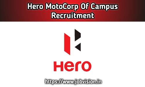 Hero MotoCorp Recruitment