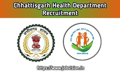 Chhattisgarh Health Department