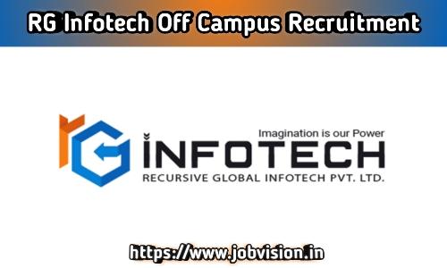 RG Infotech Off Campus Drive