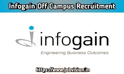 Infogain Off Campus Drive
