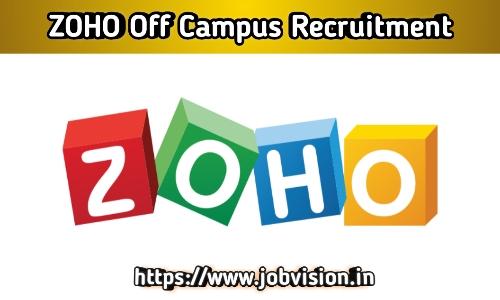 Zoho Recruitment