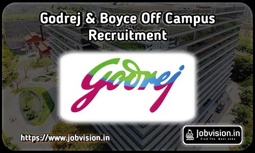 Godrej & Boyce Recruitment