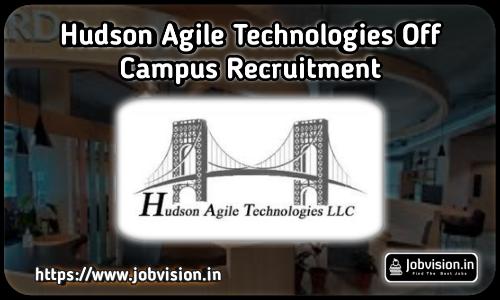 Hudson Technologies Recruitment