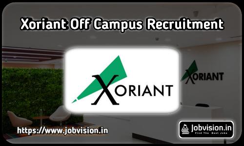 Xoriant Recruitment