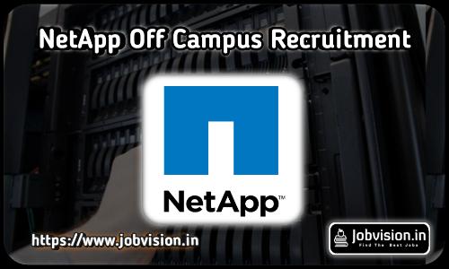NetApp Recruitment