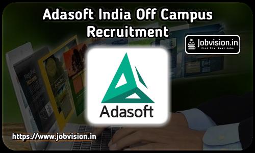 Adasoft India Off Campus Drive