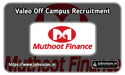 Muthoot Finance Off Campus Drive