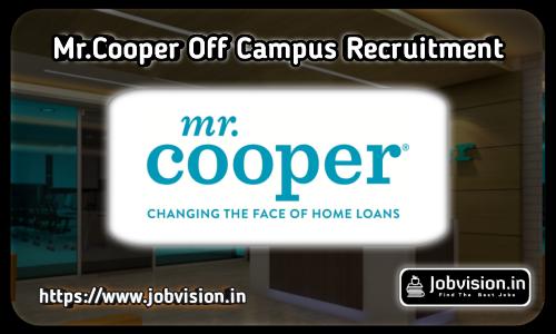 Mr.Cooper Recruitment
