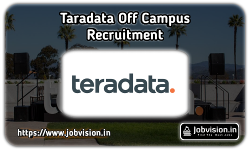 Teradata Recruitment