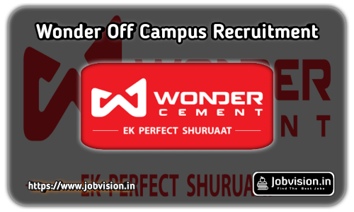 Wonder Cement Recruitment