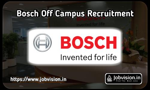 Bosch Recruitment