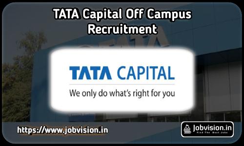 Tata Capital Recruitment