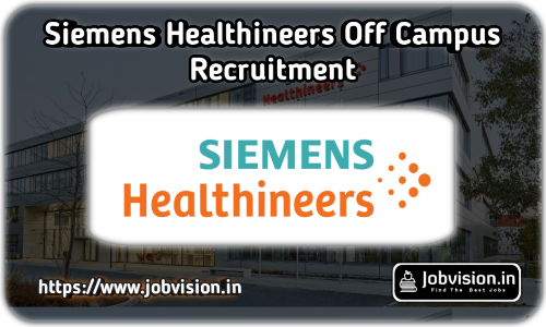 Siemens Healthineers Recruitment
