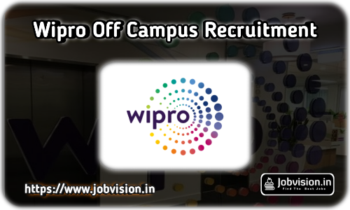 Wipro India Off Campus Drive Hiring Freshers