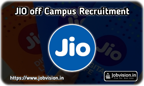 Reliance Jio Off Campus Recruitment
