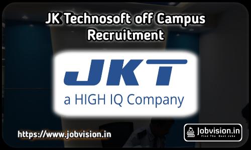 JK Technosoft Off Campus Drive