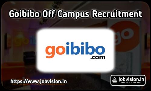 Goibibo Off Campus Drive
