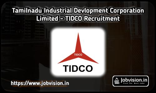 TIDCO - Tamilnadu Industrial Development Corporation Limited
